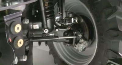 Axle- steering -suspension